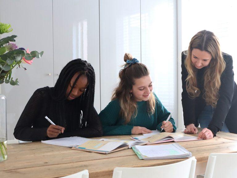 Huiswerkbegeleiding bij Onderwijspraktijk Teylingen. Privé huiswerkbegeleiding of in een klein groepje.